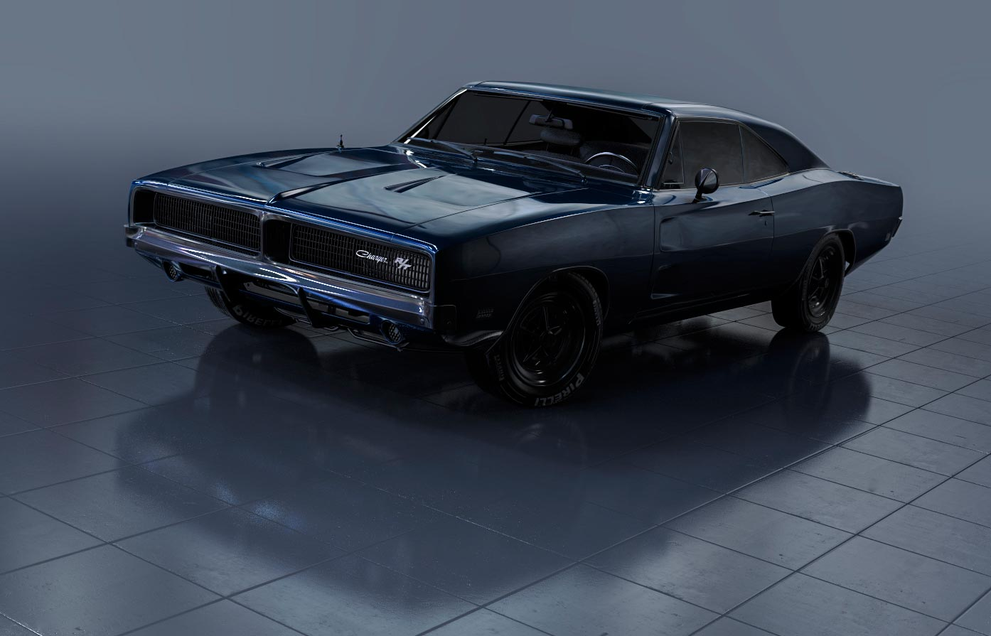3D Rendering of a Charger