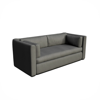 3D rendering sofa dimetric