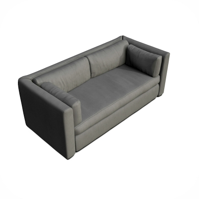 3D rendering sofa isometric