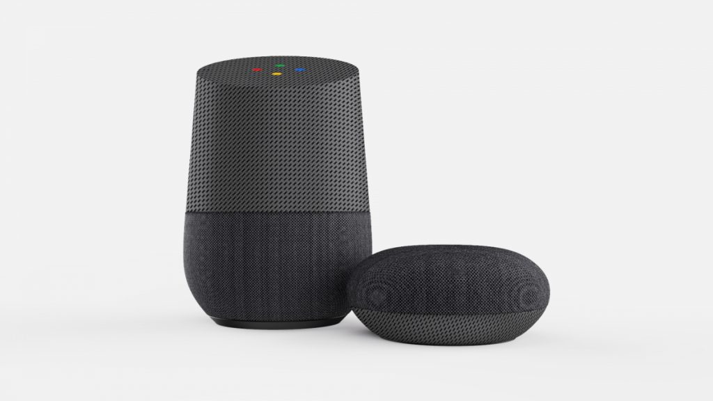 Google home product rendering