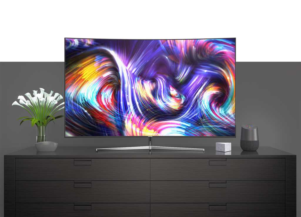 Samsung Curve In-Situ 3D Render