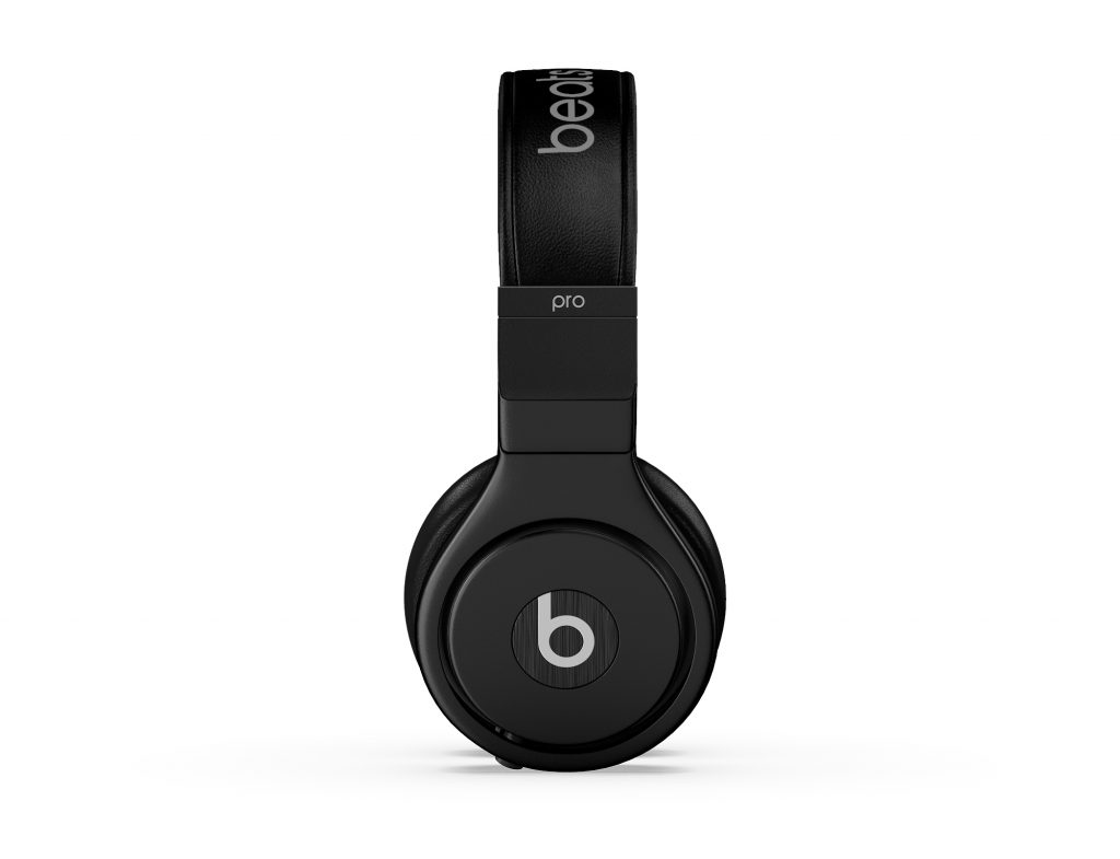 Dre Beats 3D Rendering Side View