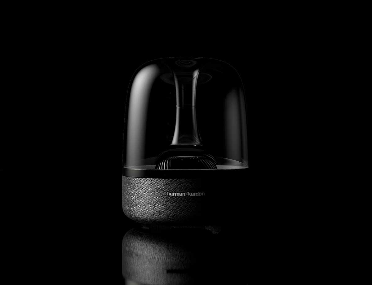 Harman Kardon Speaker 3D Render Teaser