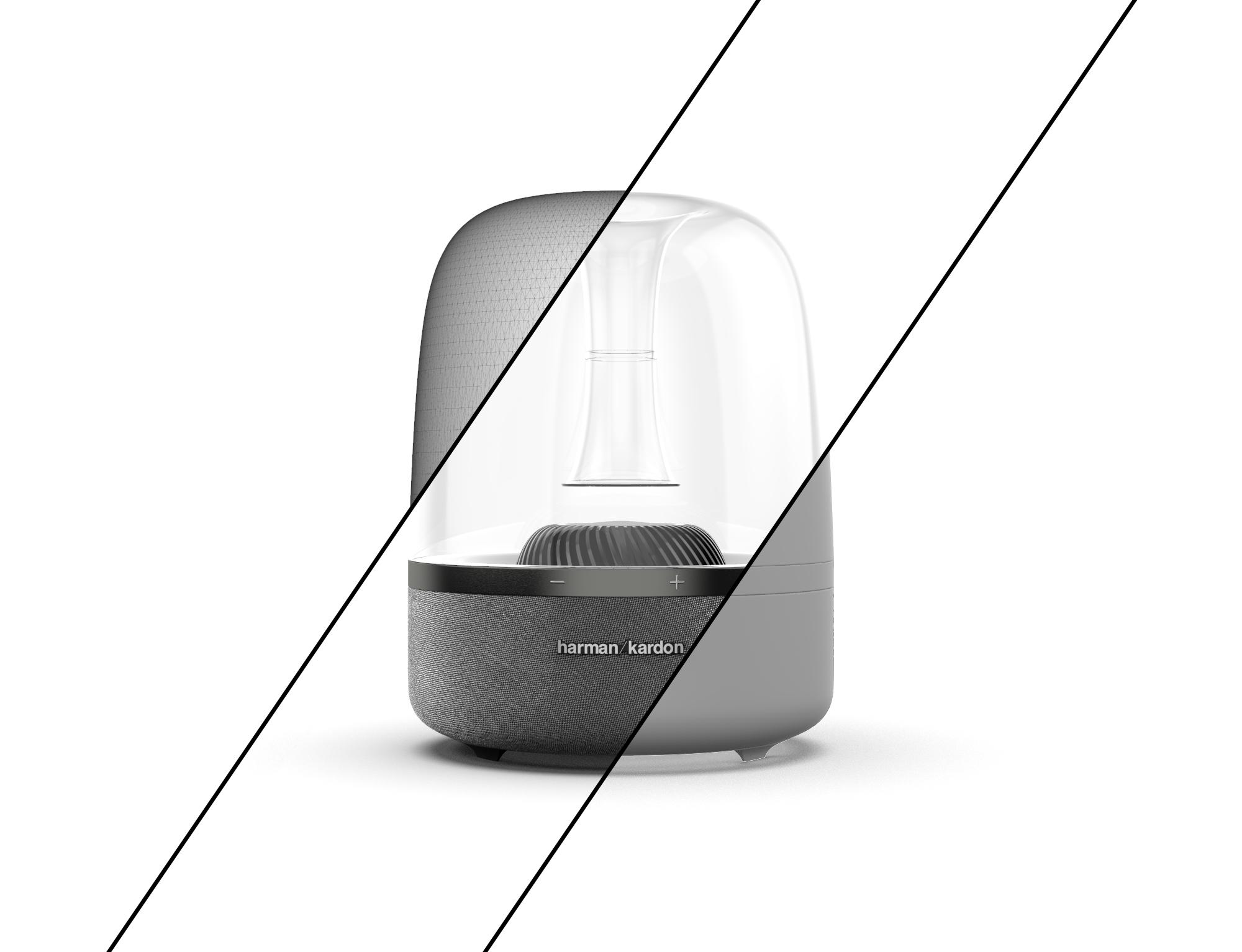 Harmon Kardon Speaker 3D Model Intersections