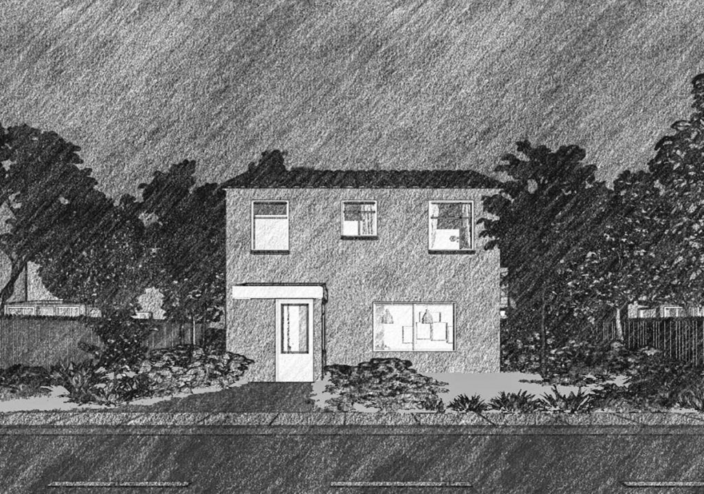 Architectural Rendering Sketch