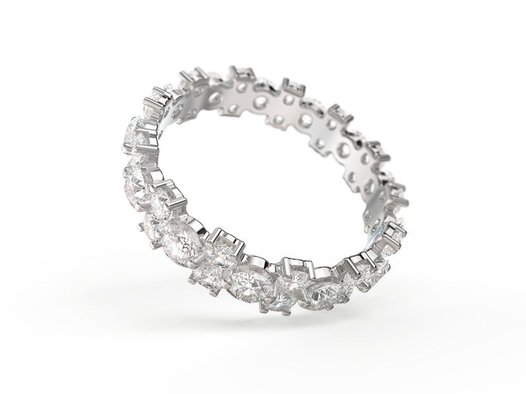 Diamond Ring Render Tilted