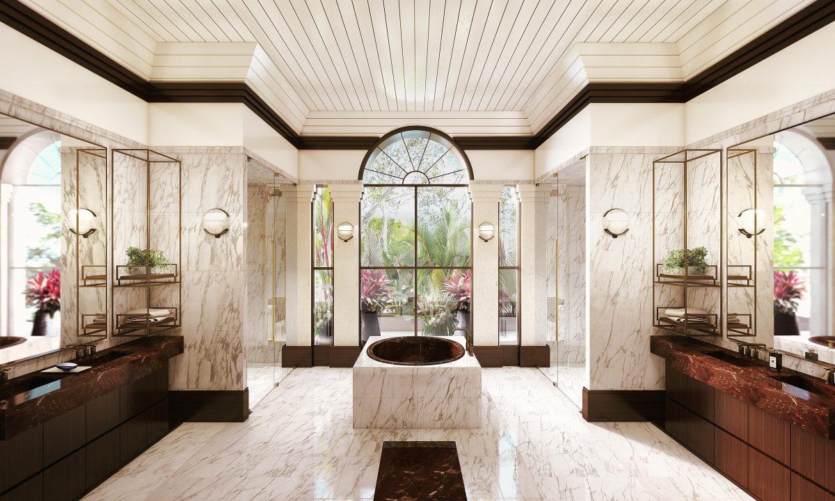 Bathroom 3D Render High Image Resolution