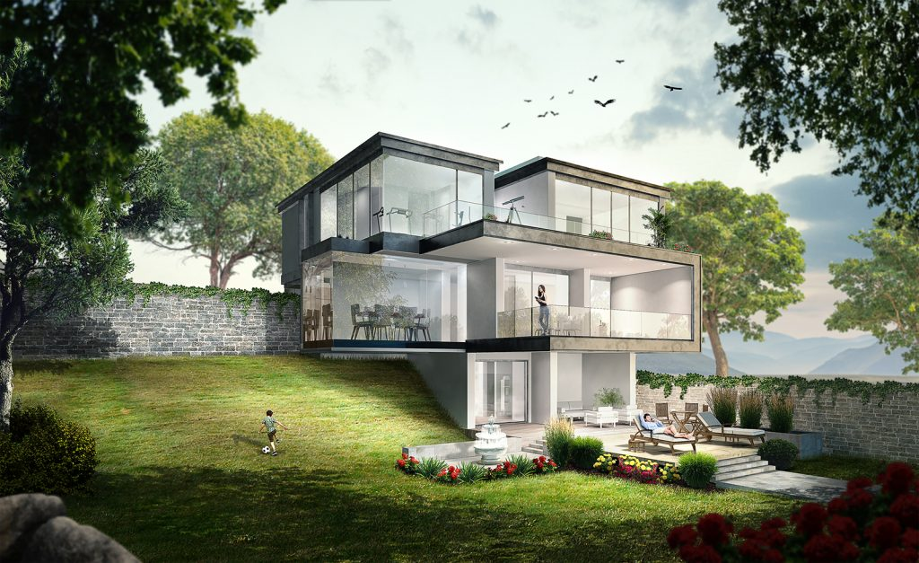 High End Villa 3D Architectural Visualization