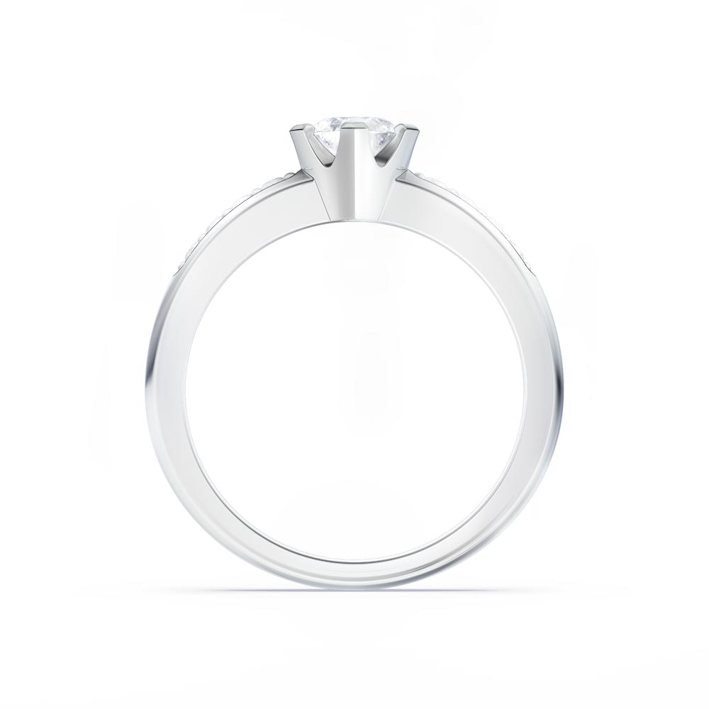 Side View Ring Jewellery Render
