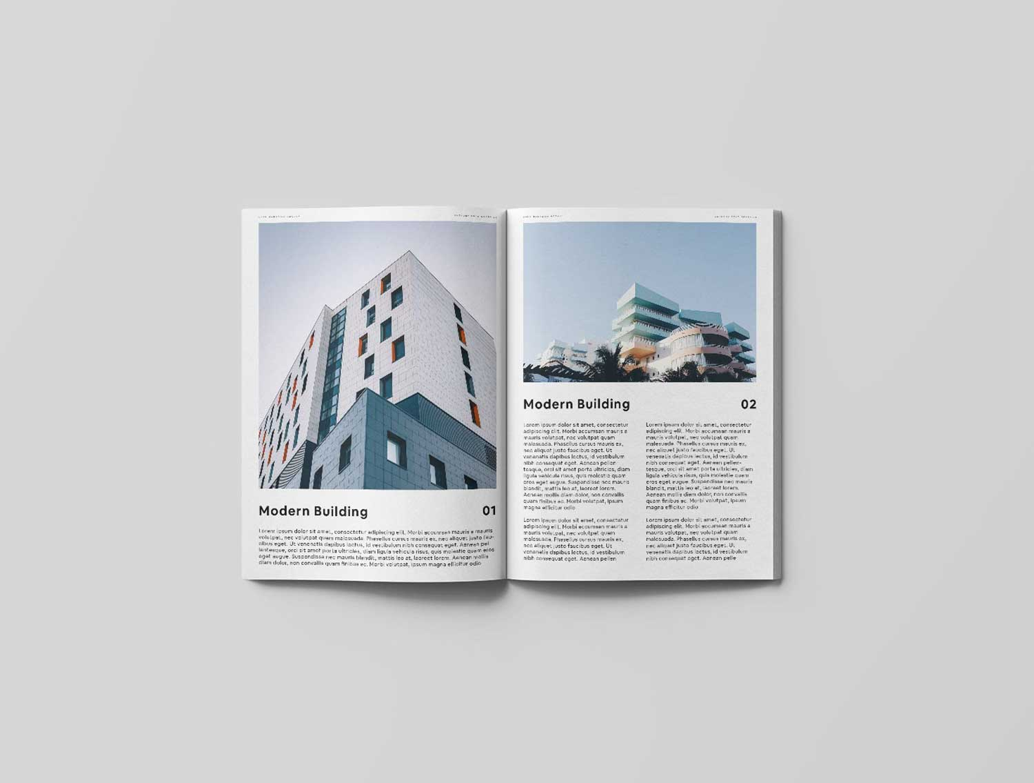 Architectural Visualization Magazine Advert Example