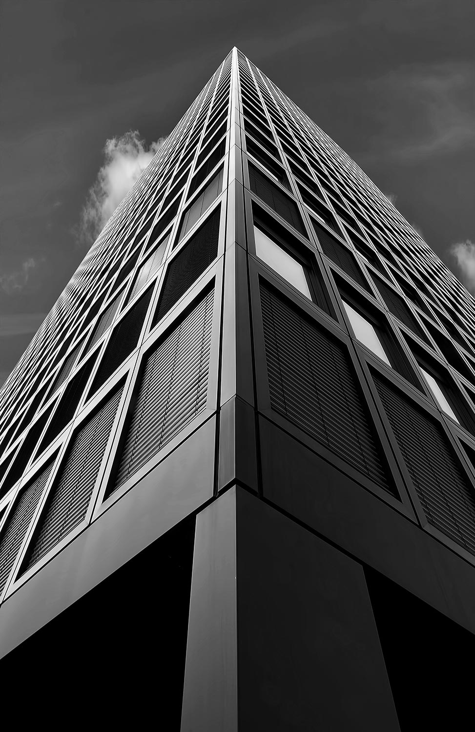 Monochromatic Architectural Visualization