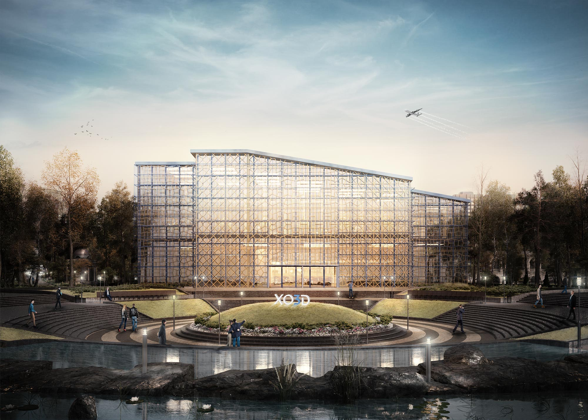 Architectural Visualization of Museum