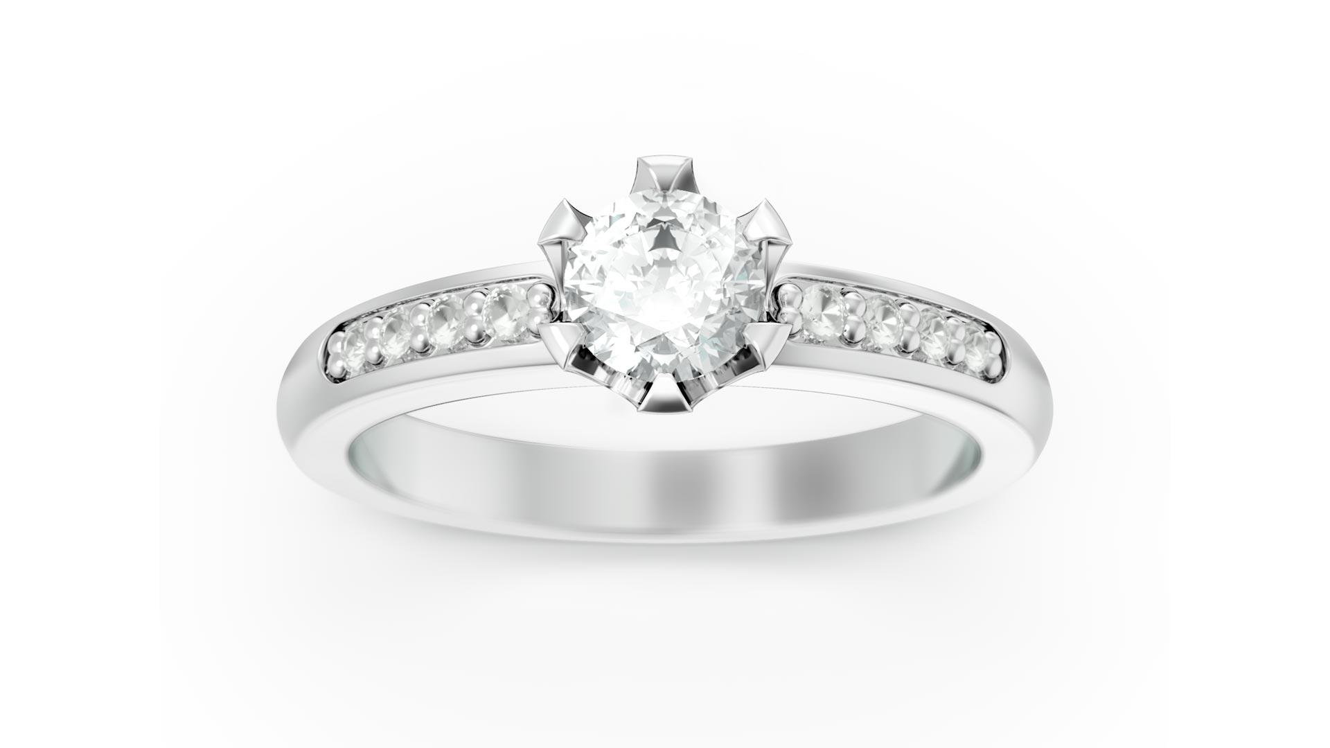 E-commerce jewellery render