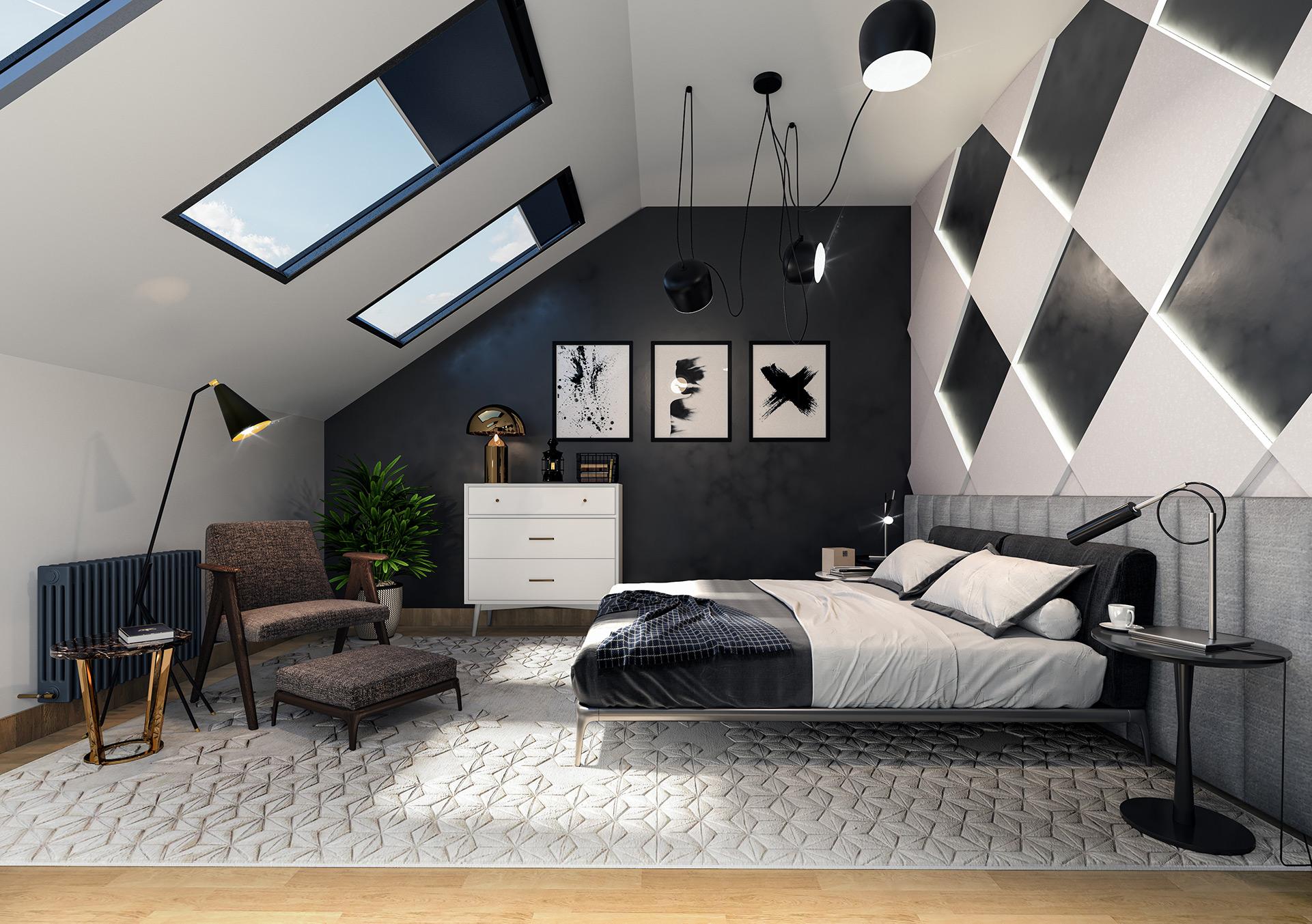 Bedroom Interior Render