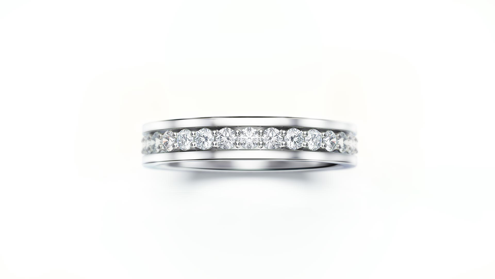 Diamond Ring Jewellery Render