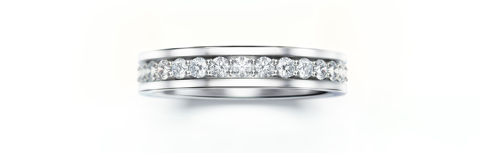 Diamond Ring Jewellery Rendering