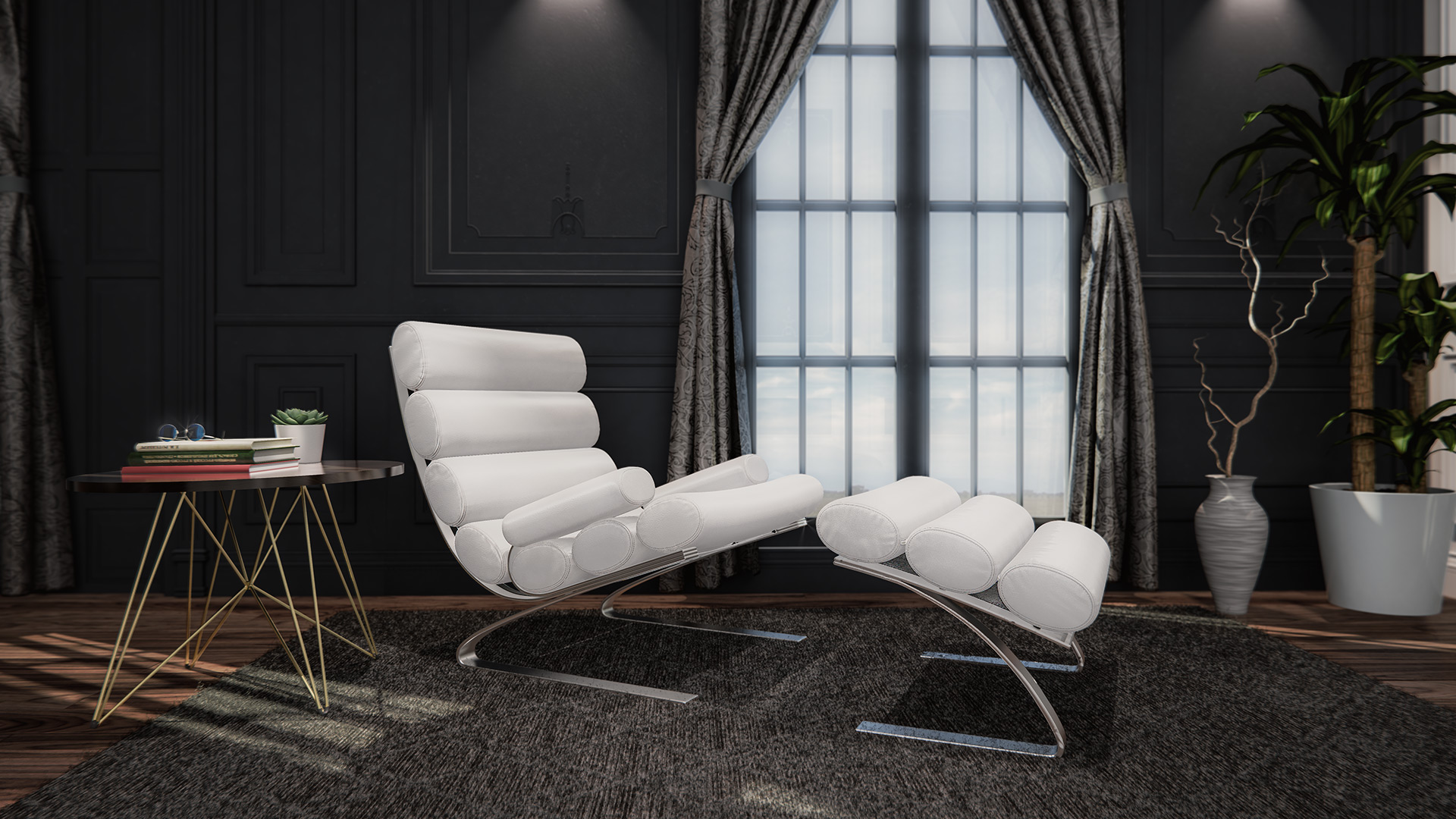 Furniture Lifestyle 3D Rendering