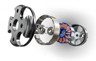Mechanical Exploded View 3D Rendering