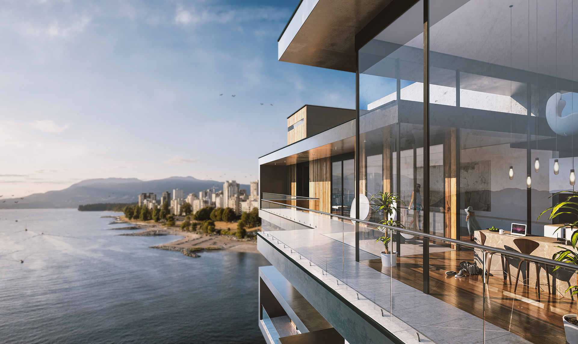 Penthouse Architectural Render