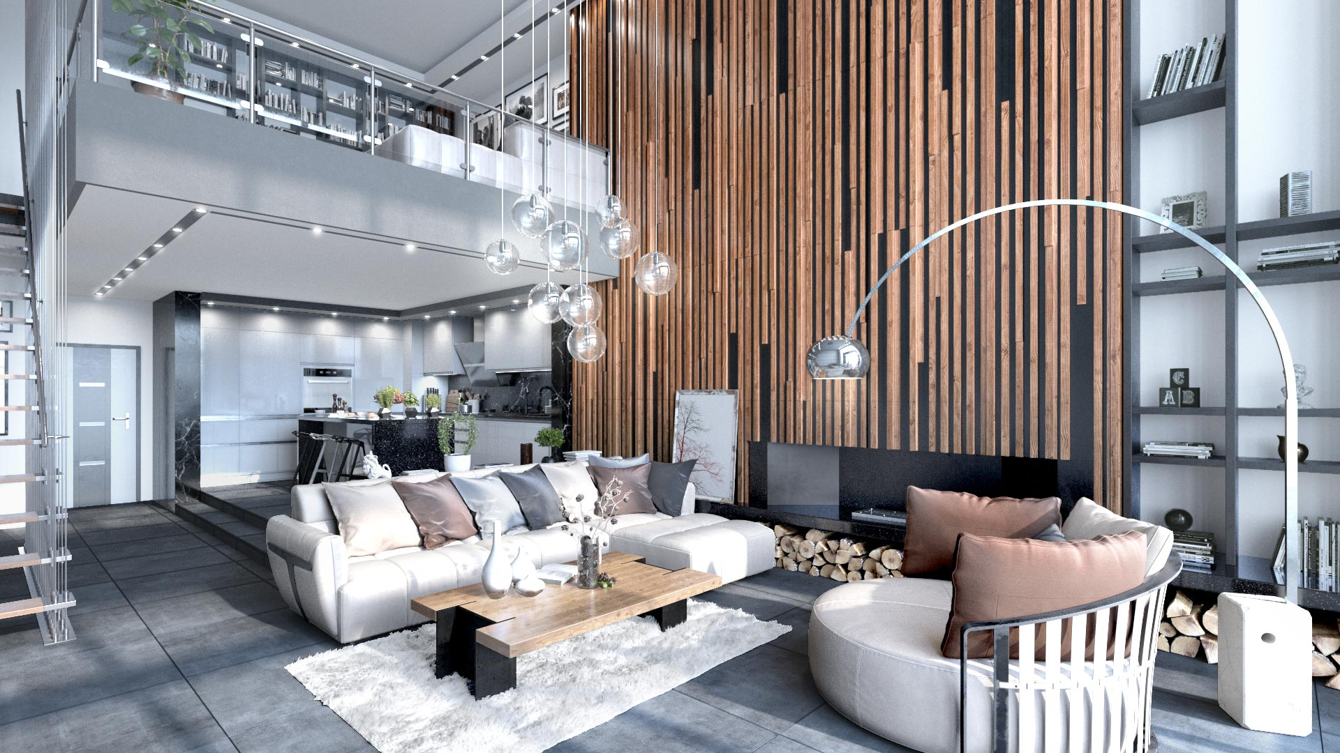 Residential Interior Visualization