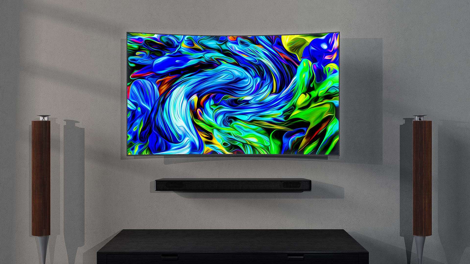 Samsung TV In Situ Render