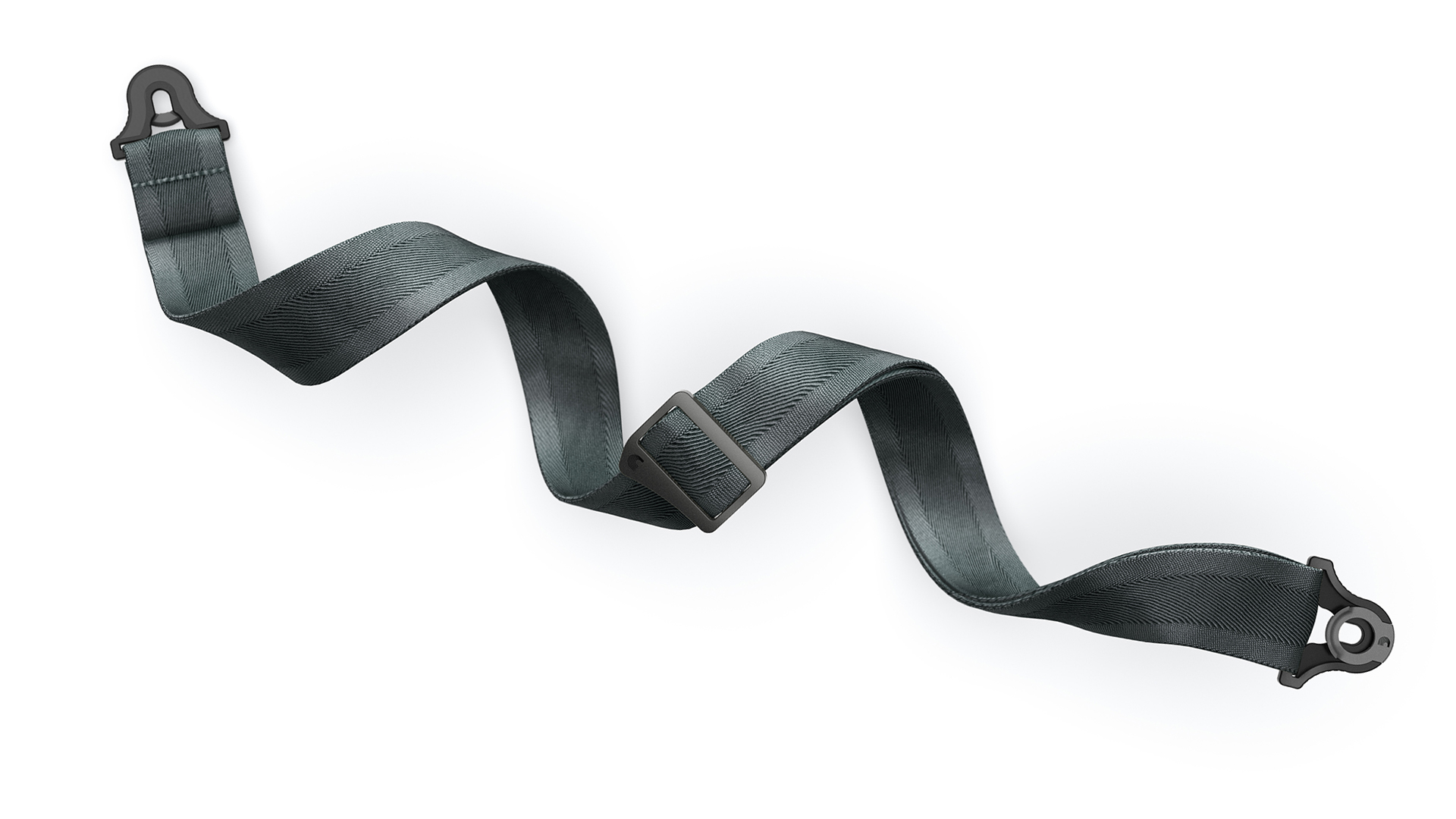 D'Addario Guitar Strap Lock Grey Product Render