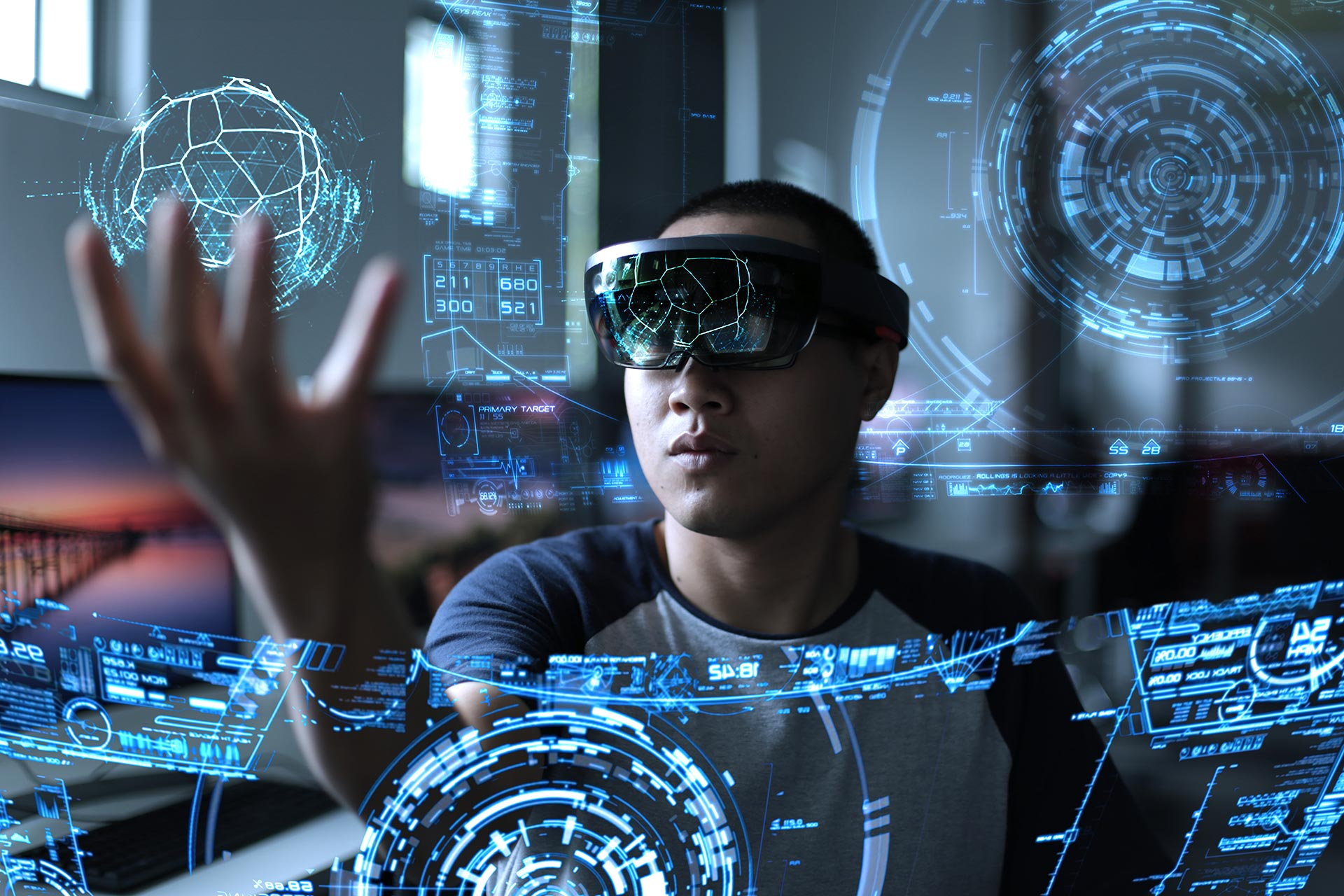 VR Data Visual